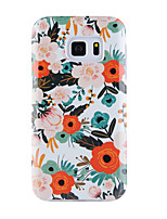 til case cover mønster bagside cover blomst soft tpu til Samsung Galaxy S8 plus s8 s7 kant s7 s6 kant plus s6 kant s6 s6 aktiv s5