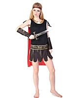 Cosyumes Romains Tenue Féminin Halloween Noël Fête / Célébration Déguisement d'Halloween Mosaïque