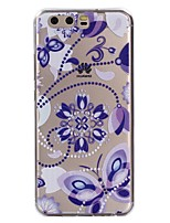 For Case Cover Transparent Pattern Back Cover Case Mandala Butterfly Soft TPU for Huawei Huawei P10 Lite Huawei P10 Huawei P9 Lite Huawei