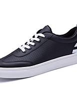 Da uomo Scarpe PU (Poliuretano) Autunno Inverno Comoda Sneakers Lacci Per Casual Bianco Nero Rosso