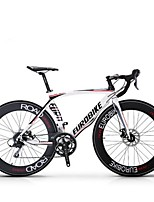 Cruiser Bike Cycling 16 Speed 26 Inch/700CC SHIMANO Disc Brake Non-Damping Aluminium Alloy Frame Anti-slip Aluminum Alloy