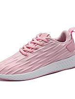 Women's Shoes Knit Summer Fall Comfort Light Soles Sneakers For Casual Outdoor Blushing Pink Red Black White