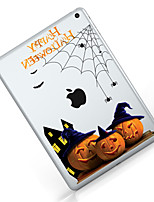 billige -Til iPad (2017) Etuier Transparent Mønster Bagcover Etui Transparent Halloween Blødt TPU for Apple IPad pro 10.5 iPad (2017) iPad Pro