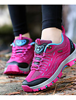Running Shoes Mountaineer Shoes Women's Anti-Slip Rain-Proof Wearable Breathability Leisure Sports Low-Top Suede EVA Latex Hiking Running