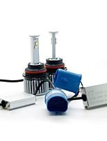 joyshine x7-9004 (hb1) ampoules à phare avant ultra lumineux faisceau 120w 9600lm 6000k (2pcs)