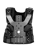 andoer b200-c1 pro vidéo studio photographie en alliage d'aluminium gilet de chargement 16mm stabilisateur de bras d'amortisseur pour