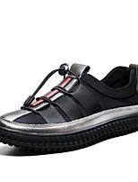 Da uomo Scarpe Tulle Autunno Comoda Sneakers Elastico Per Casual Nero Grigio