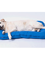 Dog Bed Pet Liners Solid Gray Green Blue