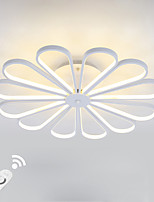Dimmable Modern LED 150W Ceiling Light Flush Mount Alumilium Painting with Remoter Dimmer for Living Room Bed Room