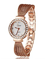 Women's Fashion Watch Simulated Diamond Watch Unique Creative Watch Chinese Quartz Alloy Band Silver Gold Rose Gold