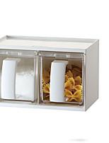 2 Kitchen Plastic Food Storage