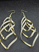 Women's Hoop Earrings Basic Alloy Jewelry For Stage Club