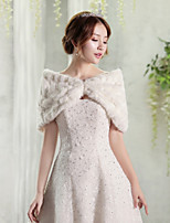 Women's Wrap Capelets Faux Fur Wedding Party/ Evening