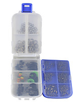 170 pcs Fishing Accessories Set g/Ounce mm inch,Stainless Carbon Steel Sea Fishing Bait Casting Ice Fishing Spinning Jigging Fishing