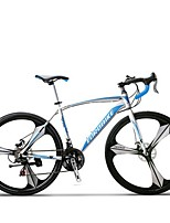 Cruiser Bike Cycling 21 Speed 26 Inch/700CC SHIMANO TX30 Disc Brake Non-Damping Steel Frame Carbon Anti-slip Aluminum Alloy Carbon Steel
