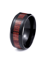 Men's Band Rings Fashion Personalized Stainless Steel Titanium Steel Jewelry Jewelry For Daily Casual