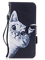 For Case Cover Card Holder Wallet with Stand Flip Magnetic Pattern Full Body Case Cat Hard PU Leather for Samsung Galaxy S8 Plus S8