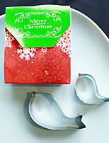 Practical Christmas Party Favors - 2pcs Love Birds Cookie Cutters in Favor Bag Beter Gifts®Party Supplies