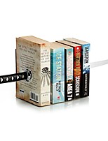Japanese Cretive Katana Bookends Bookshelf Office Stationery With Hidden Bracket for Magic Book/Action Movie Fans Ramdon Color