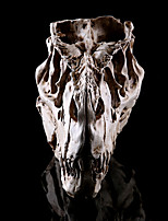 1PC Halloween Dinosaur Head Resin Skull House Escape Horror Props Decorations