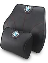 Automotive Headrest & Waist Cushion Kits For BMW All years All Models Car Waist Cushions Leather