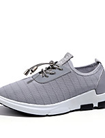 Men's Shoes Tulle Summer Fall Comfort Light Soles Sneakers Gore For Casual Outdoor Blue Gray Black