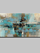 Handgemalte Abstrakt Horizontal,Abstrakt Modern Ein Panel Leinwand Hang-Ölgemälde For Haus Dekoration
