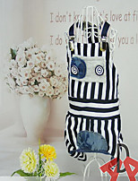 Dog Clothes/Jumpsuit Vest Dog Clothes Casual/Daily Stripe