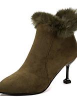Da donna Scarpe Pelle nubuck Inverno Stivali Stivaletti alla caviglia Stivaletti A stiletto Appuntite Stivaletti/tronchetti Per Casual