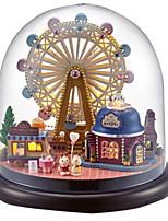 Kit fai-da-te Palline Scatola musicale Puzzle Giocattoli Cupola Casa Cartone animato Plastica Vetro 1 Pezzi Non specificato Compleanno