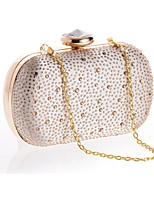 Damen Taschen Ganzjährig Polyester Abendtasche Kristall Verzierung für Hochzeit Veranstaltung / Fest Gold Schwarz Silber
