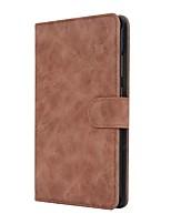 solide boîtier en cuir pu puissant en cuir avec support pour huawei mediapad t3 tablette de 7,0 pouces