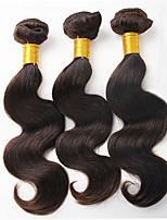 3Bundles 300g Short Length 10-16inch Brazilian Virgin Human Hair Body Wave Natural Black Human Hair Weaves