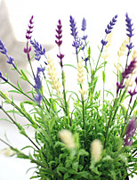Artificial Lavender Plant Wedding Flower Arrangement Home Decoration 10 Branch