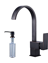Centerset Swivel with  Ceramic Valve Oil-rubbed Bronze , Kitchen faucet