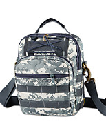 Men Bags All Seasons Nylon Shoulder Bag for Casual Outdoor Gray Gray Green Army Green