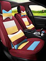 mosaico di lino bandiere arcobaleno sedile auto sede cuscino sede quattro stagioni generalmente circondato da un cinque sedile-claret