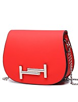 Women Bags All Seasons PU Shoulder Bag Beading for Event/Party Casual Black Red Blushing Pink Milky White