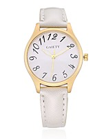 Women's Dress Watch Fashion Watch Wrist watch Unique Creative Watch Casual Watch Chinese Quartz PU Band Candy color Charm Elegant Casual