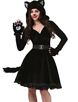 Animal Fairytale Cosplay Costumes Adults' Halloween Festival/Holiday Halloween Costumes Fashion Vintage