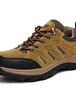 Hiking Shoes Running Shoes Mountaineer Shoes Men's Wearable Leisure Sports Nubuck leather Rubber