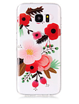 Case For Samsung Galaxy S8 Plus S8 Phone Case TPU Material Flower Pattern HD Phone Case S7 edge S7 S6 Edge S6 S5