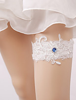 Lace Wedding Garter with Crystal Wedding AccessoriesClassic Elegant Style