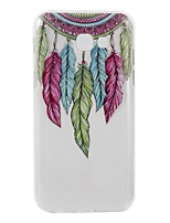 For Case Cover Transparent Pattern Back Cover Case Feathers Dream Catcher Soft TPU for Samsung Galaxy A3(2017) A5(2017) A5(2016) A3(2016)