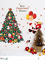 Christmas Fashion Holiday Wall Stickers Plane Wall Stickers Decorative Wall Stickers,Plastic Material Home Decoration Wall Decal