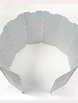 parabrisas Estufa Einzeln Hartes Aluminiumoxid für Picknick Camping & Wandern Grill-Feuerzeug