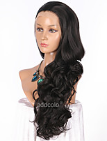 Women Synthetic Wig Lace Front Long Body Wave Black Natural Hairline Party Wig Celebrity Wig Natural Wigs Costume Wig
