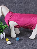 Hund Weste Hundekleidung warm halten Massiv Schwarz Rot Blau