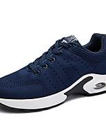 Da uomo Scarpe PU (Poliuretano) Primavera Autunno Comoda Sneakers Lacci Per Casual Nero Grigio Blu