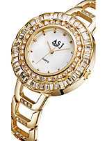 ASJ Women's Fashion Watch Wrist watch Bracelet Watch Japanese Quartz Alloy Band Silver Gold